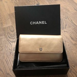Chanel Wallet On Chain Porte Bil Mon Metallic Auth
